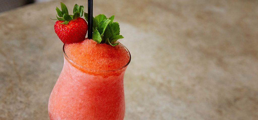 Frozen Strawberry Negroni