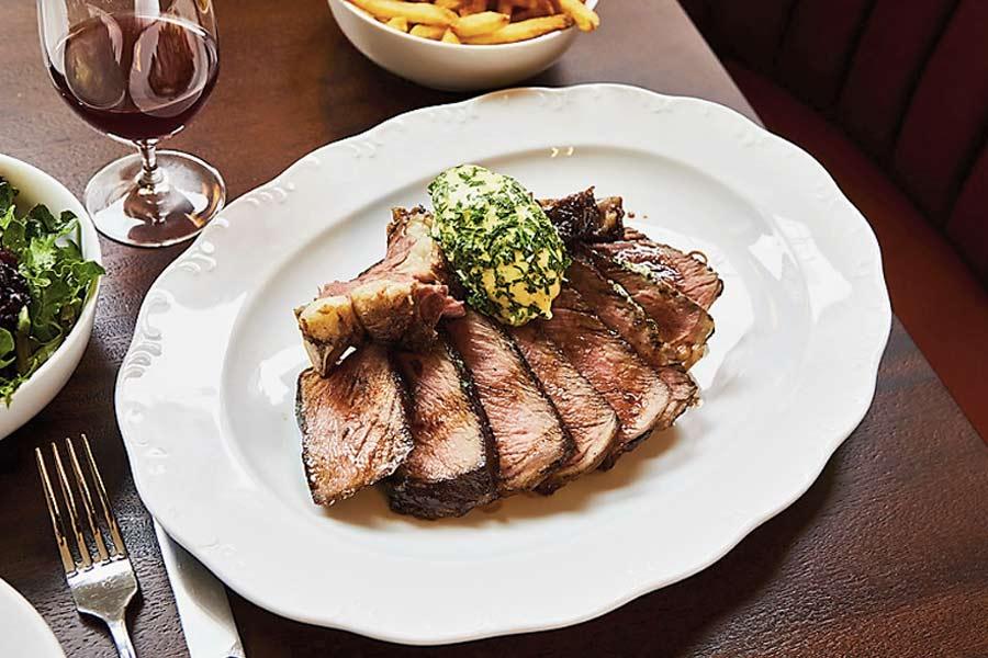 Steak at Frenchette, New York, NY
