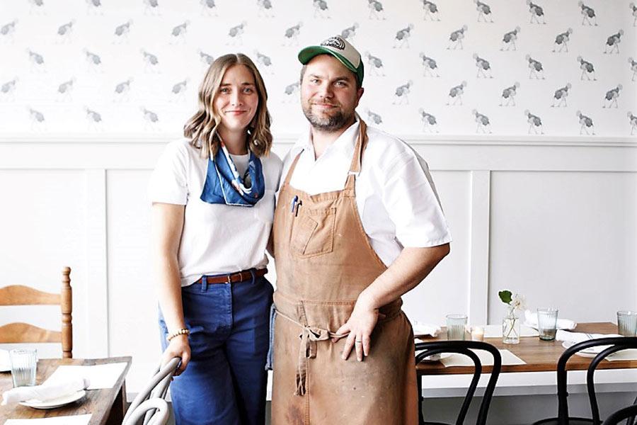 Logan Cox and Sara Knowles of Homer