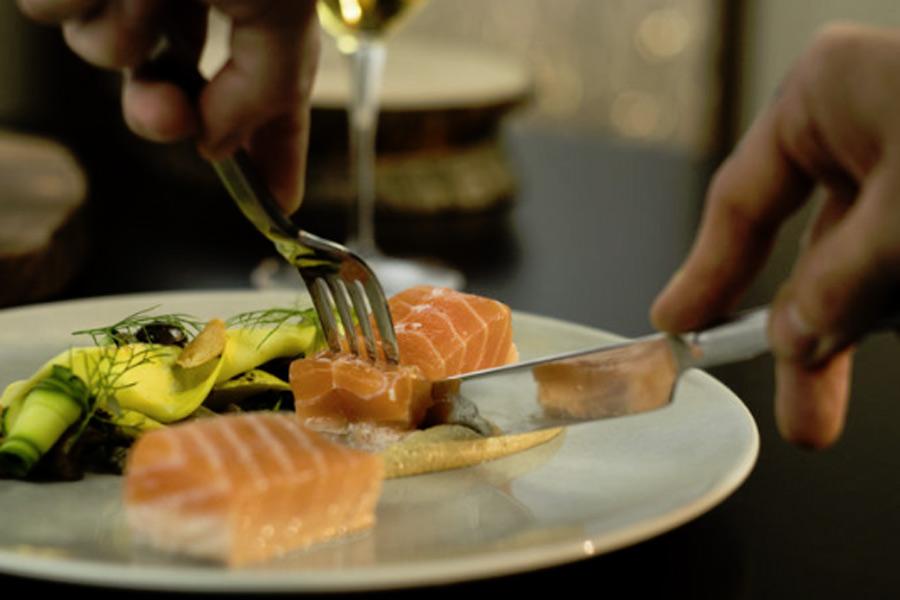 Salmon at Journeyman's Food + Drink