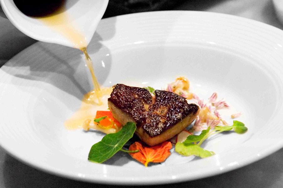 Foie gras, La Toque, Napa, CA