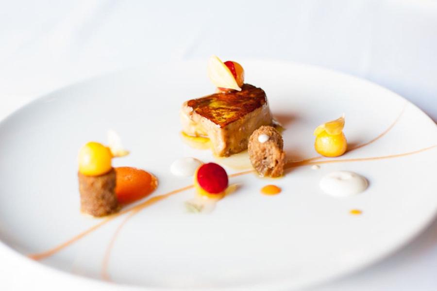 Seared foie gras, L'Espalier, Boston
