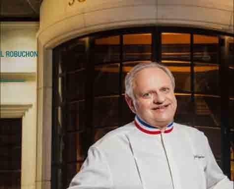 Chef Joël Robuchon