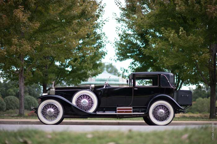 The 1923 Rolls Royce Silver Ghost, Riviera Town Car featured in the 2017 Concours d'Élegance of America