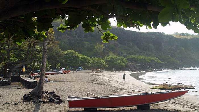 Hookena Beach Park, Hawaii