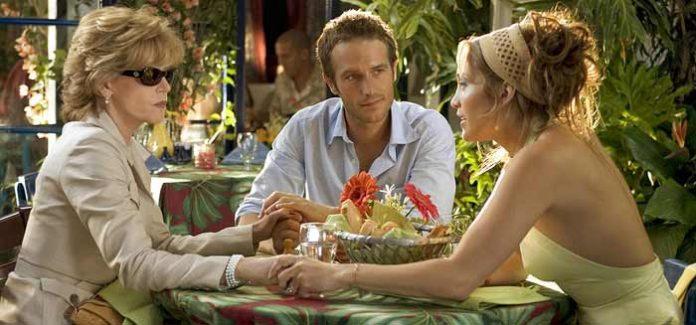Jane Fonda (opposite Jennifer Lopez) in Monster in Law is one of GAYOT's Best Movie Moms