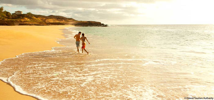 Papohaku Beach, Molokai