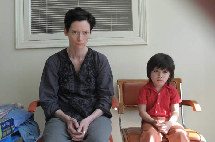 Tilda Swinton and Rock Duer in We Need to Talk About Kevin