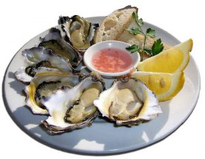 Oysters wine pairing