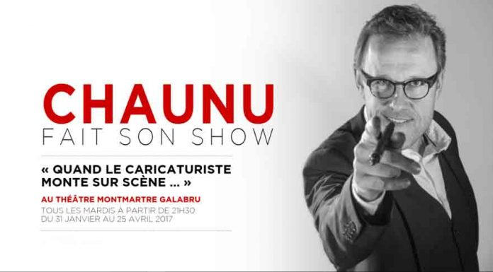 Chaunu Dessinateur One Man Show