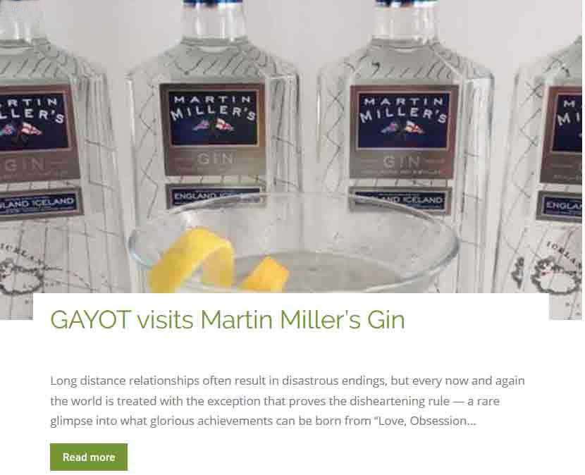 Visit Martin Miller Gin
