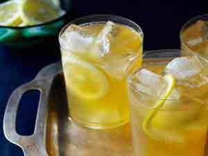 American honey cocktail