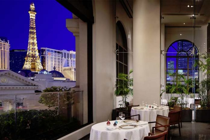 Restaurant Guy Savoy, one of GAYOT's Best French Restaurants in Las Vegas