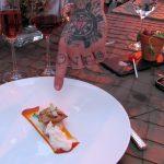 Halibut cheeks by chef Michael Voltaggio