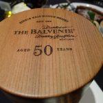 The Balvenie Aged 50 Years box top