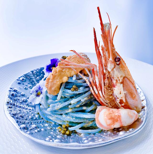 Blue Pasta Barbara Pollastrini