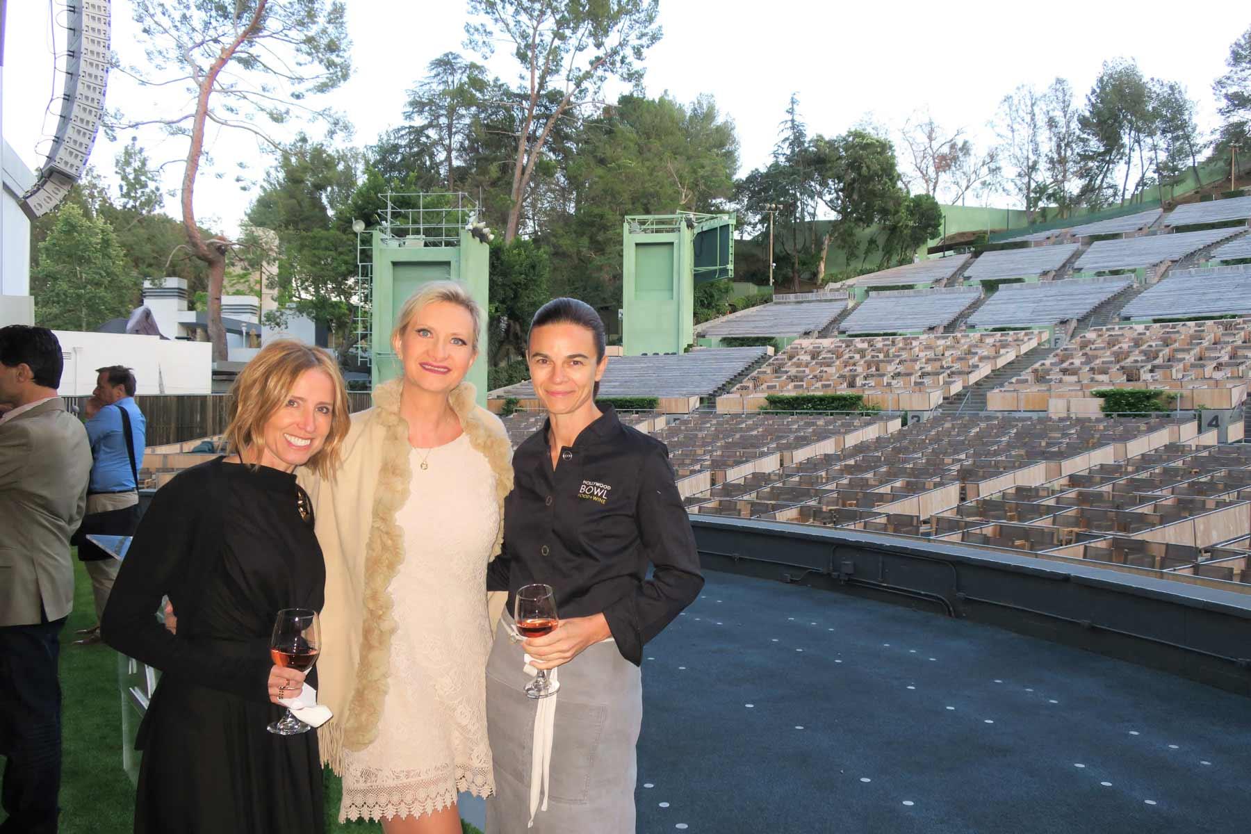 Suzanne Goin Caroline Styne Sophie Gayot Hollywood Bowl