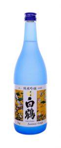 Hakutsuru junmai saké