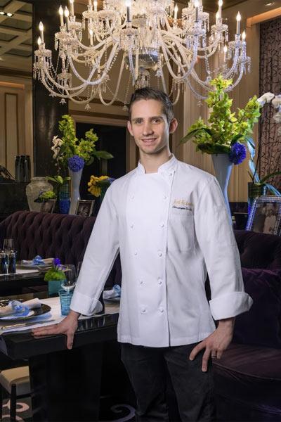 Chef Christophe De Lellis, Joël Robuchon Restaurant, Las Vegas, NV