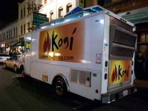 Roy Choi's Kogi BBQ food truck