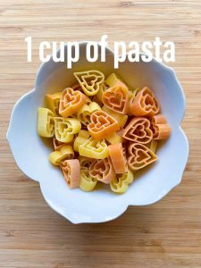 cup of pasta