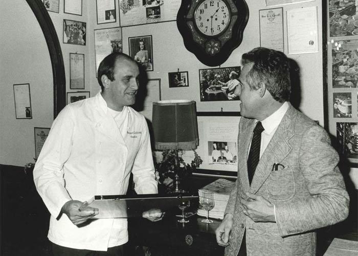 Chef Bernard Loiseau