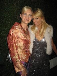 Paris Hilton and Sophie Gayot