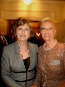 Her Excellency Mary McAleese, President of Ireland & Sophie Gayot