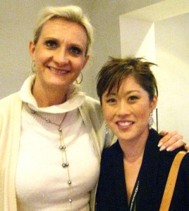 1992 Olympic Champion in women's singles Kristi Yamaguchi with Sophie Gayot