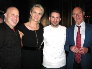 Tom Colicchio, Sophie Gayot, Matt Accarrino & André Gayot