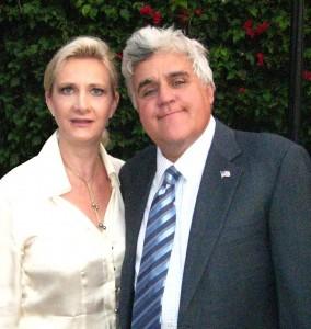 Jay Leno & Sophie Gayot