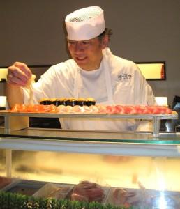 Chef Keizo Ishiba from K-ZO restaurant in Culver City