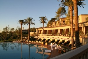 """For an extra-special Valentine's Day in Orange County, enjoy a six-course """"feast for the senses"""" dinner served in a private poolside cabana."""