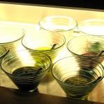 Oils at the crudo bar