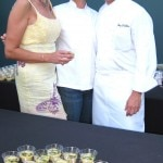 Chef Tony DiSalvo from Whist at the Viceroy in Santa Monica with Sophie Gayot