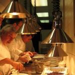 Chef Celestino Drago at work