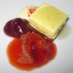 Quince gelée, bavaroise & chartreuse parfait