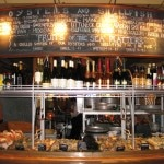 The famous raw bar at Water Grill