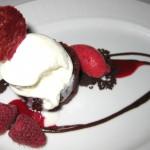 Red velvet pudding