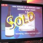 6 liter 1996 Domaine de la Romanée Conti Romanée Saint-Vivant for $10,000