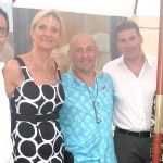 Members of the Club Culinaire of French Cuisine: Marius Blin, Ion Idiart, president Sébastien Pfeiffer, Mrs. Akira, with Sophie Gayot
