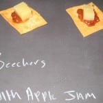 Beecher's cheese with apple jam