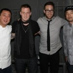 Chef powerhouse: Nobu Matsuhisa, Michael Voltaggio, Ilan Hall and Roy Choi