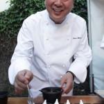 Chef Nobu Matsuhisa cooking