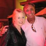 Actress Julia Alexander with Bob McCormick from KNX 1070
