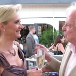 """Mayor Richard Riordan with Sophie Gayot, """"Of course I know GAYOT.com!"""""""