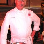 Chef/owner of Mr. Cecil's California Ribs, Jonathan Burrows