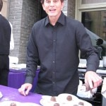 Pasquale Vericella of Il Cielo with chocolate soufflés