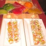 Bouchon Beverly Hills restaurant, summery melon salad