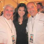 Drago restaurant, Celestino and Giacomino Drago, Il Buco, with TV Host Victoria Recano